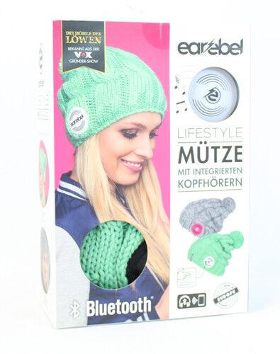 Beanie Strickmütze Earebel Kopfhörer Lautsprecher Bluetooth aus Höhle der Löwen