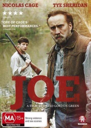 1 of 1 - Joe (DVD, 2014) Nicholas Cage Tye Sherrridan