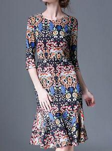 Elegante-vestito-abito-corto-colorato-morbido-maniche-lunghe-slim-3035