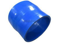 Cxracing 2-2.165 Straight Reducer Blue Silicone Hose, 3 Long