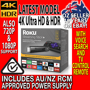 Details about LATEST ROKU STREAMING STICK PLUS 3810R 4K Ultra HD + HDR TV  Streamer for Netlfix