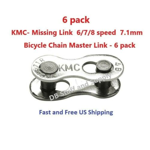 Genuine KMC Missing Link Bike Chain Joining Link 7 //8 speed 9 speed 10 speed