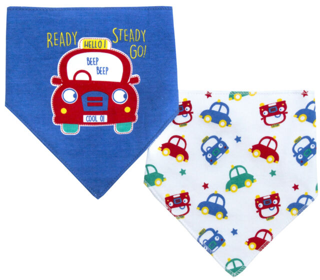0-6 Months Baby Patterned 7 Days Of The Week Bibs in Boys /& Girls Options Pink Pack of 7