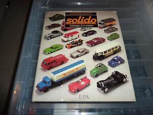 Azema. Solido Catalogue D'un Univers. 1957-1982. Voitures Miniatures