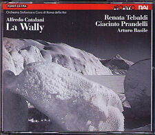 CATALANI: LA WALLY Renata Tebaldi BASILE 2CD Majonica Gardino Perotti Prandelli