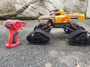 Details about AU store RC 2 4G 4WD Monster Jam Yellow EL TORO LOCO Rock  Crawle and Snow mode