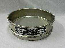 ndecotts Laboratory Test Sieves  4, 32 & 125mm S/Steel Mesh BS410/1986