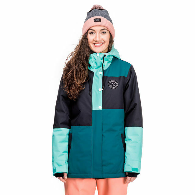 Giacca Donna Snowboard HORSEFEATHERS Donna Nela colore Deep Lake 2017/2018