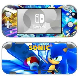 Nintendo Switch Lite Console Vinyl Skins Sticker Decal Covers Sonic The Hedgehog Ebay