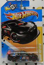 BLACK RACE CAR 20012 M3 GT2 5 BMW SPORTS CAR HW HOT WHEELS