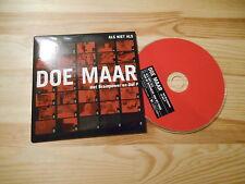 CD Pop Doe Maar - Als Niet Als (2 Song) PIAS / V2 MUSIC