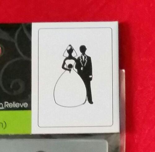 """1216-58 WEDDING MARRIAGE BRIDE /& GROOM DARICE EMBOSSING FOLDER 4.25/"""" X 5.75/"""""""