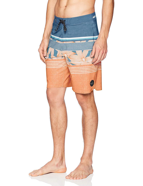 Rip Curl Men's Mirage Shake Up Boardshorts - orange Popsicle (Size 32, 34)