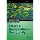 Theory of Computational Complexity by Ker-I Ko, Ding-Zhu Du (Hardback, 2014)
