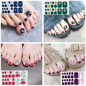 Waterproof-Nail-Sticker-Toenail-Sticker-Full-Cover-Wraps-Toe-DIY-Nail-Sticker1pc