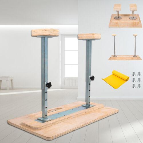 "Fixed Handstand Canes Yoga Headstand Bench Gymnastics Rectangular Hand Blocks 8/"""