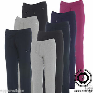 Nike-Womens-Fleece-Bottoms-Trousers-Joggers-Black-Grey-Navy-Violet-Pink