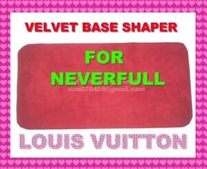 249bf2de52eb Red Microfiber Base Shaper Liner Board that fit the Louis Vuitton ...