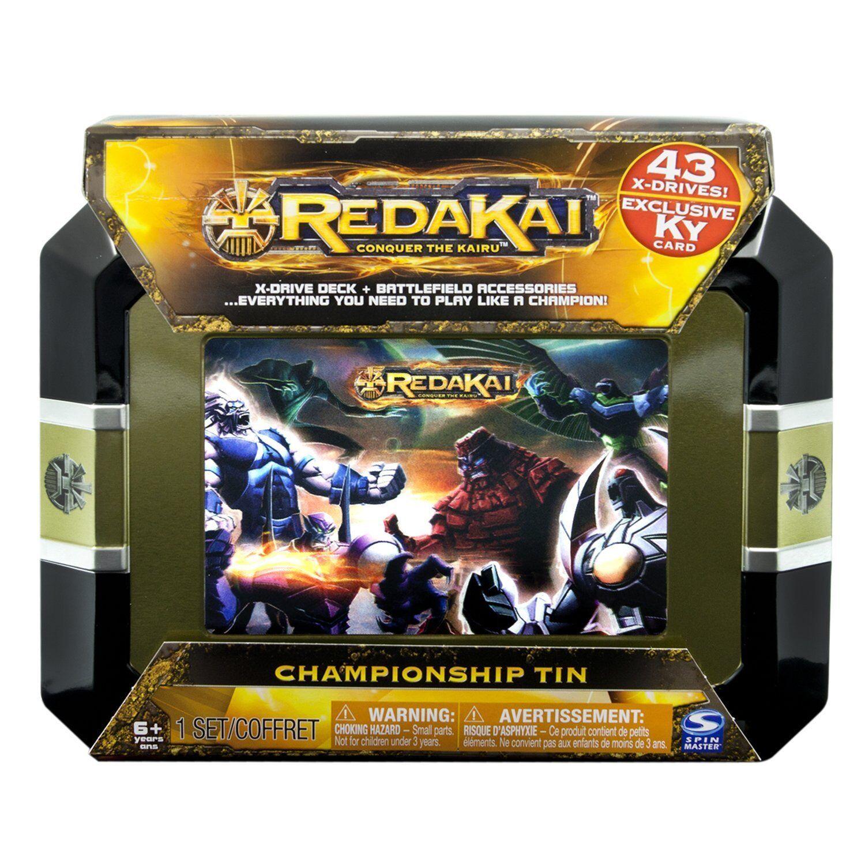 Joyeux Noël! Championnat Redakai Tin avec cartes édition édition édition limitée 0f2acc