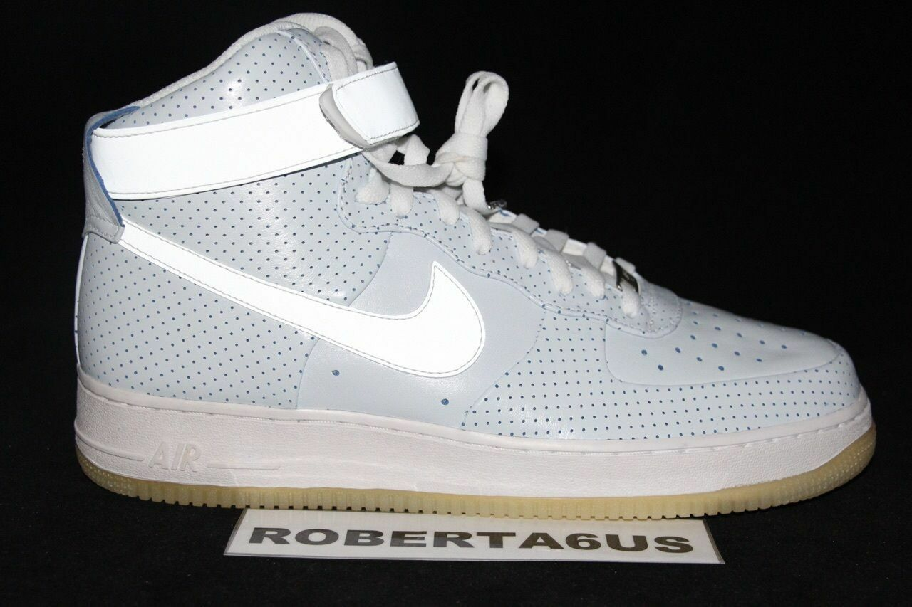 2010 Nike Air Force 1 One High Hi NBA All Star Game Supreme 345189 101 Size 11
