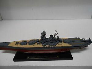 Grosses Soldes Acorazado Warship Ijn Yamato 1:1250 Atlas De Agostini #105
