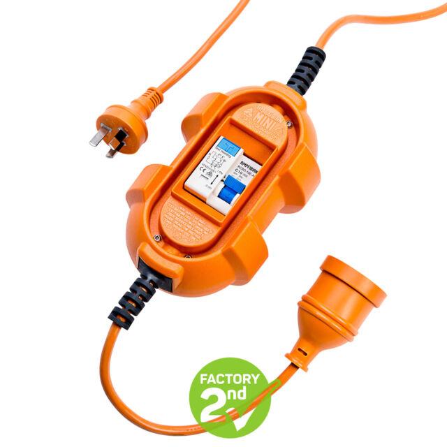 Ampfibian MINI 10Amp-15Amp RCD Power Adaptor FACTORY SECOND