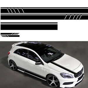 5-DIY-Auto-Car-Side-Body-Long-Stripe-Vinyl-Decals-Decoration-Stickers-Universal