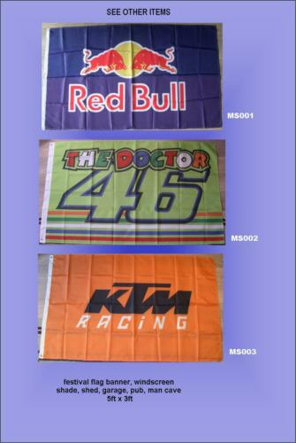 hangar pare-brise ombre Kawasaki Fan WSBK Drapeau Bannière Man Cave, garage UK