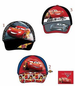 6897e260a598 Boys Kids Children Disney Cars Summer Sun Baseball Cap Hat Age 3-9 ...