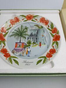 Kaiser Porcelain Elyse Wasile Bahamas Plate Queen S Staircase 2nd Ltd Ed 4876 Ebay