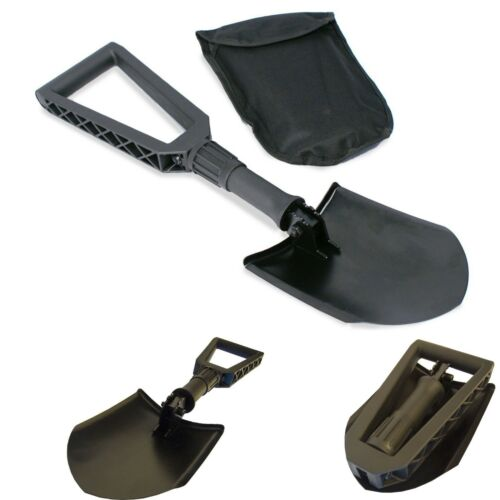 NEW Snow Shovel Spade Outdoors Winter Scoop Handle Gardening Foldable Compact