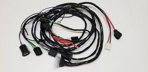 Sensational 1963 63 Chevy Impala Forward Front Light Wiring Harness Internal Wiring Database Gramgelartorg