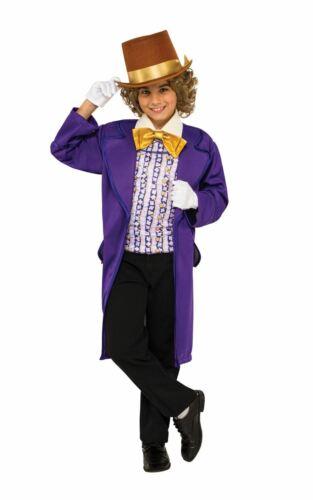 Garçons Willy Wonka Costume Charlie chocolaterie Roald Dahl Livre Semaine Fancy
