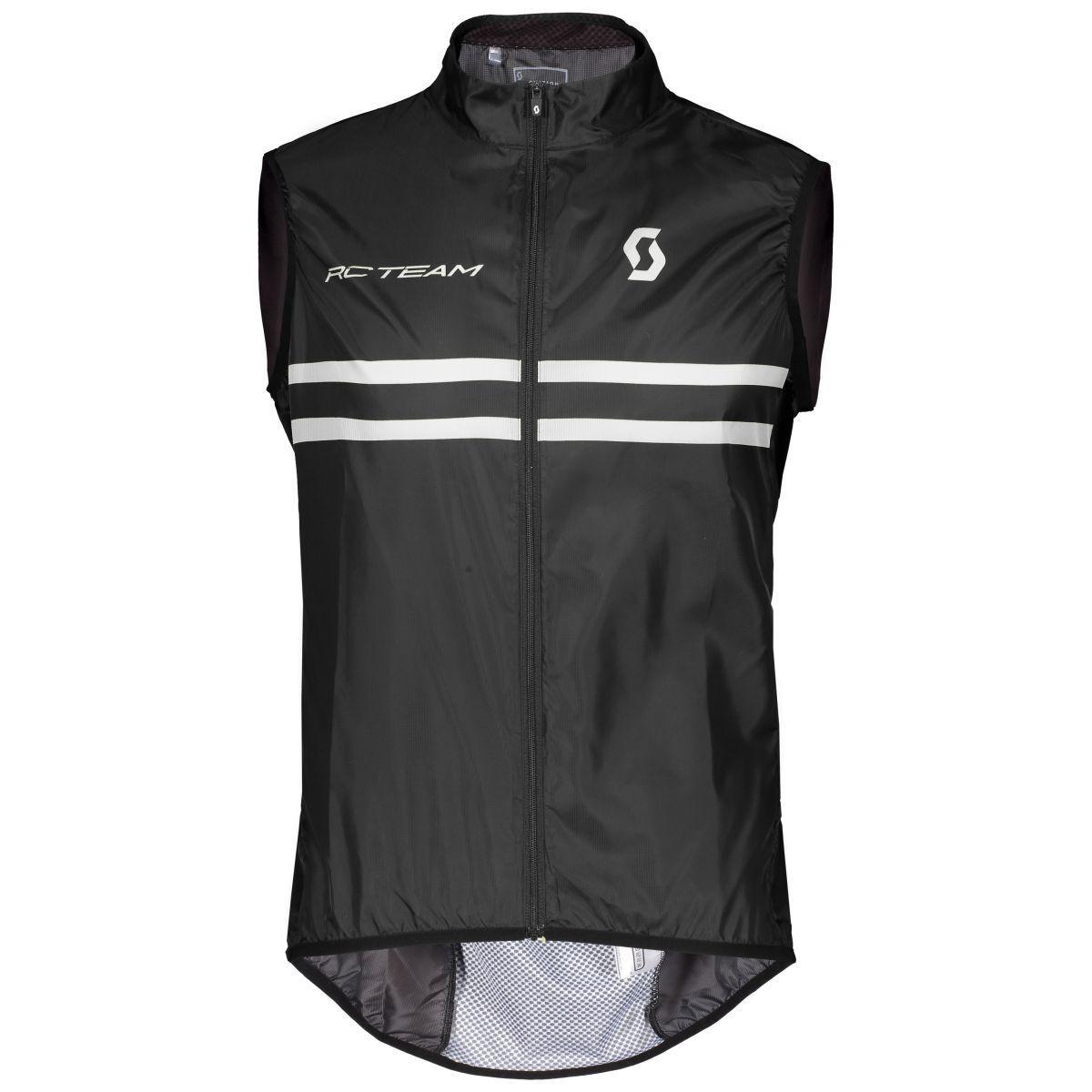 Scott RC Team Fahrrad Windweste black white 2019