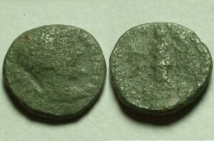 Rare Genuine Ancient Roman billon coin denarius Septimius Severus military issue