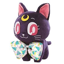 Prize Ichiban Kuji Sailor Sailor Moon C Award Luna Stuffed Toy From Japan