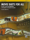 Movie Duets for All: Tenor Saxophone, Level 1-4 by Alfred Publishing Co., Inc. (Paperback / softback, 2010)