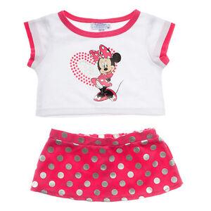 Disney Minnie Mouse Skirt Outfit  Pc Build A Bear