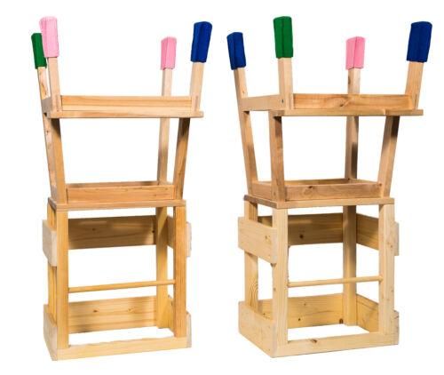 Deskiturm® Lernturm mit Filzsocken Montessori Learningtower Learning Tower