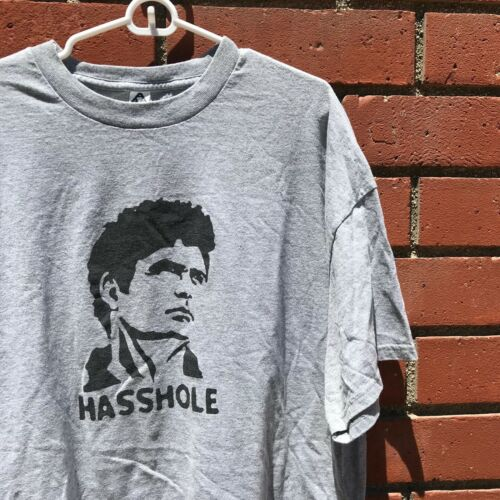 Funny David Hasselhoff Hasshole Gray/Black Graphic