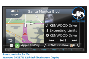 Tuff Protect 2pcs Anti-glare Screen Protectors For Kenwood DNX874S