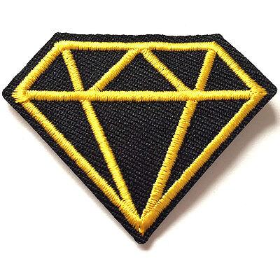 Aufnäher Diamond Aufbügler Abzeichen Bügelbild Aufnäherbild Patches