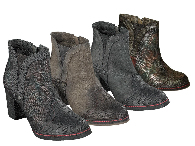 Mustang 1287-502 zapatos señora botines tobillo