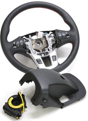 Genuine Leather Heated Steering Wheel Fit: KIA 2011+ Sportage R CLOCK SPRING