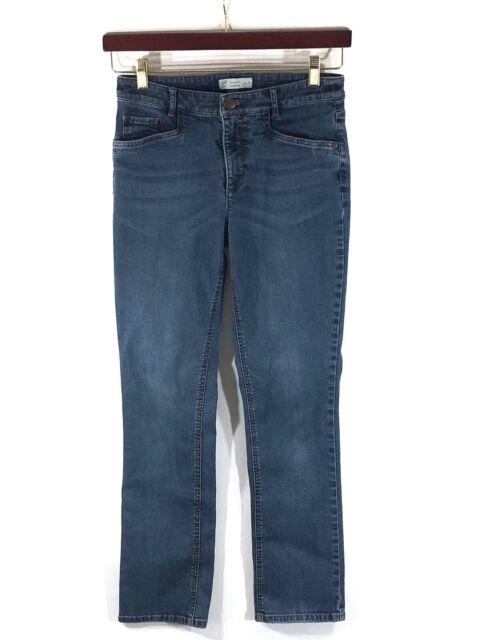 J Jill Womens Jeans Size  6 Blue Smooth Fit Straight Leg Stretch Denim