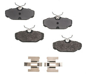 Disc Brake Pad Set-RS Semi-Metallic Pads Rear RS PARTS RSD537MH
