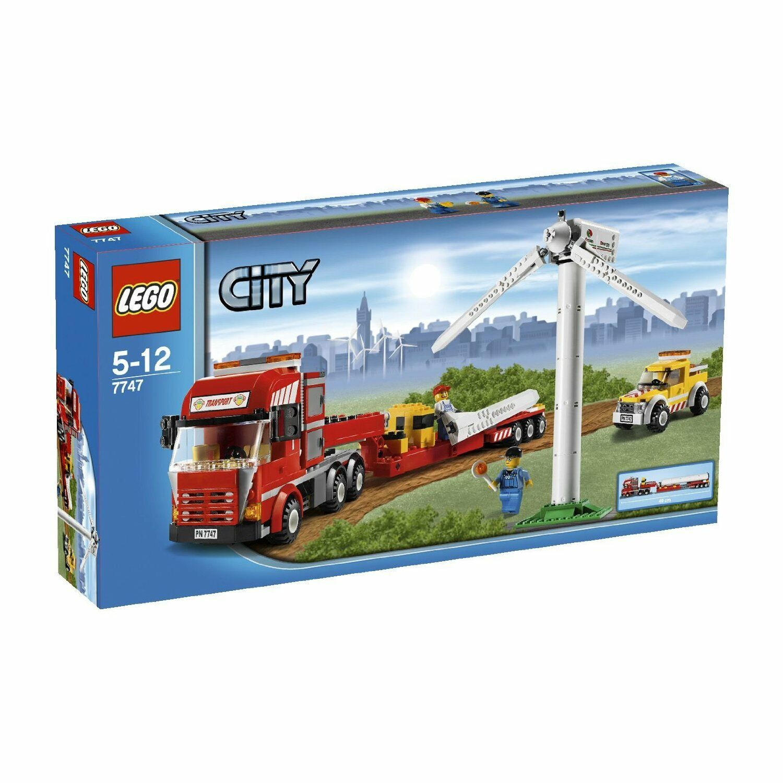 RARE  LEGO CITY 7747-éoliennes-Téléporteur-avec ba hommeuels +  neuf dans sa boîte, TOP  plus abordable