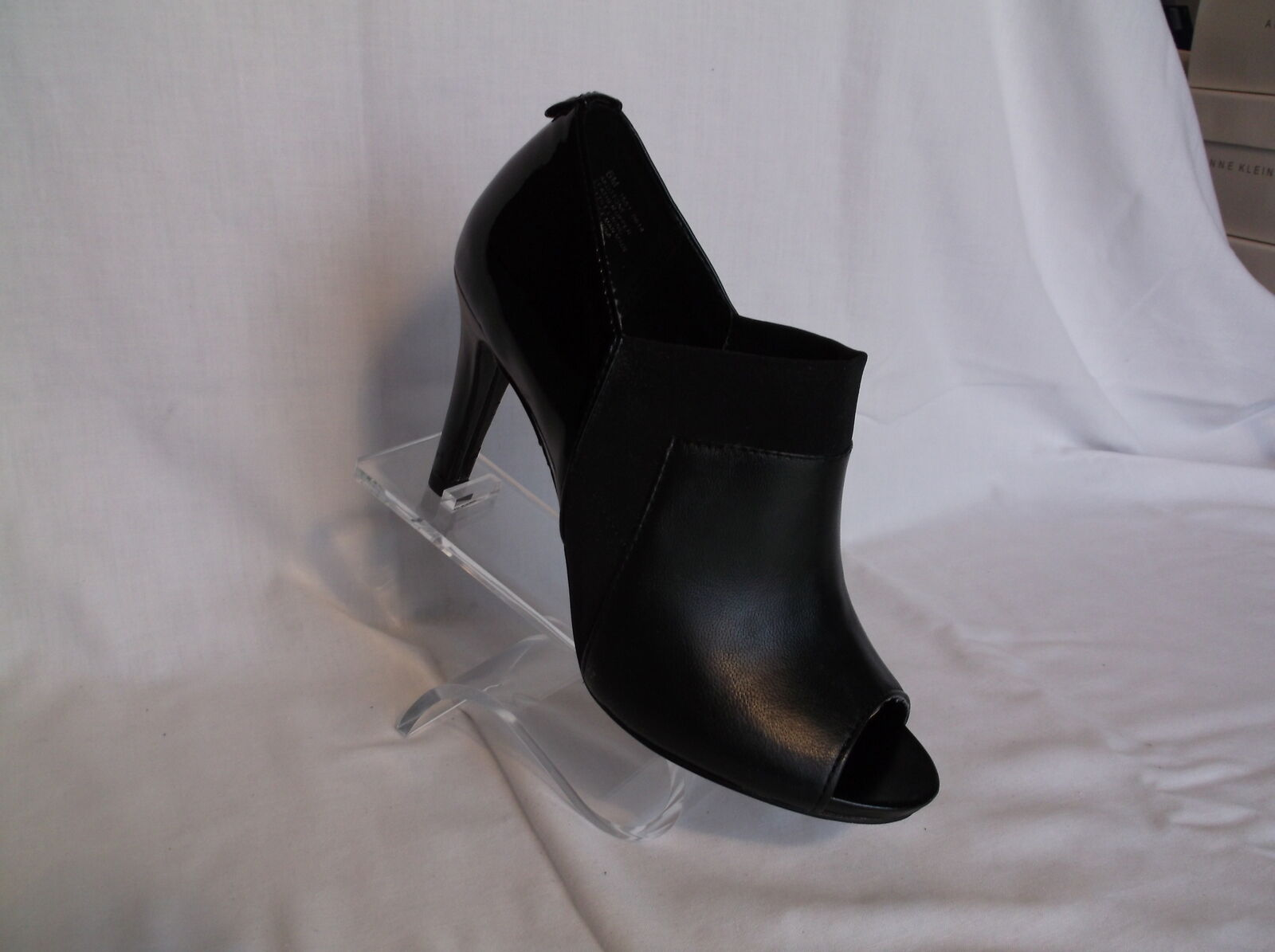 """ANNE KLEIN 3 3/4"""" HEEL BLACK OR TAUPE  NEW IN BOX"""