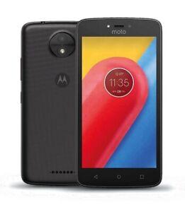 Motorola-Moto-C-XT1754-4G-5-034-Smartphone-16GB-Unlocked-1YR-Warranty-Black-A
