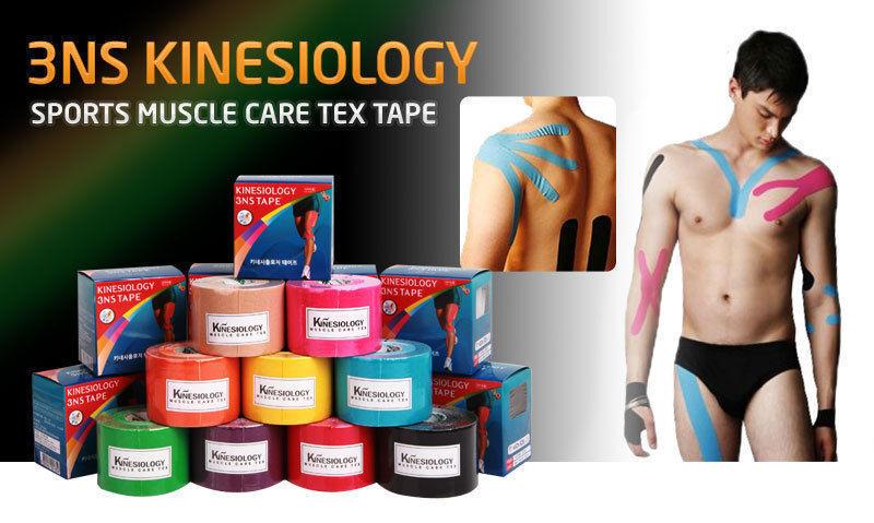 Premium 3NS Kinesiology Sports Sports Sports Muscle Care Tex Tape - 15 rolls   9 Colors b08bfa